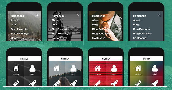 cool mobile theme